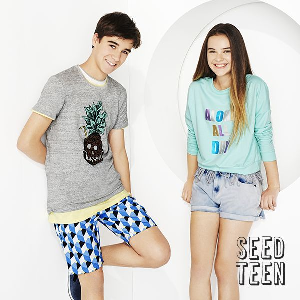 Seed Teen SS15: Summertime is a teenage dream for afterschool activities, and Seed Heritage has just the perfect uniform for escaping the classroom. Whether it's seaside jaunts or gossip over ice cream, Seed Heritage has a range of statement-making ensembles and classic staples for teens to feel confident and free. #seedheritage #seedteen www.seedheritage.com