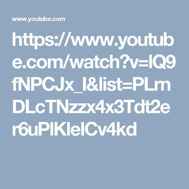 https://www.youtube.com/watch?v=lQ9fNPCJx_I&list=PLrnDLcTNzzx4x3Tdt2er6uPlKleICv4kd