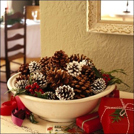 Holiday decorating made easy and inexpensive!  All you need are some inventive ways to create your own beautiful, elegant and festive holiday decorations – and almost all the items can be found aro...
