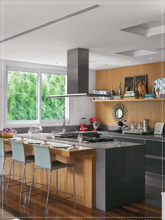 Modern Kitchen And Dining