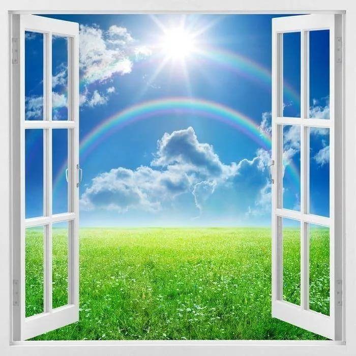 Раскрытое окно картинка