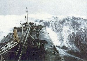 The Beaufort scale is an empirical measure that relates wind speed to observed conditions at sea or on land. Its full name is the Beaufort wind force scale.