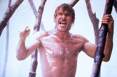 harrisonfordisperfect:  Why I love The Mosquito Coast? Harrison Ford shirtless.
