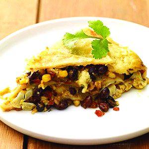 Vegetarian Mexican Lasagn