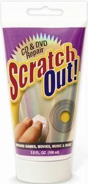 Scratch Out CD/DVD Scratch-Repair Fluid (3.5 fl. oz.) by Navarre, http://www.amazon.com/dp/B000FH9UOK/ref=cm_sw_r_pi_dp_nOt3pb081NS09