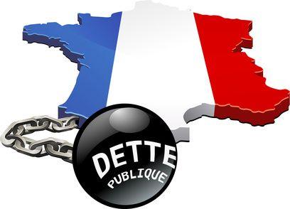 Compteur en temps réel de la dette publique française