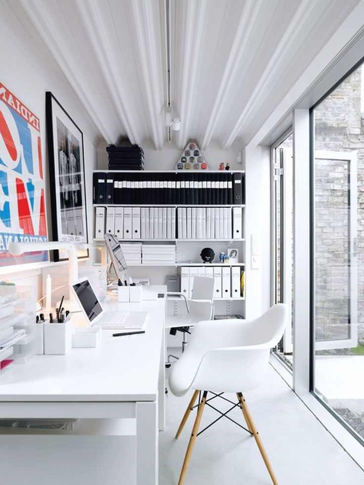 1000 ideas about industrial home offices on pinterest. Black Bedroom Furniture Sets. Home Design Ideas
