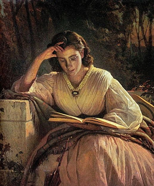 https://i.pinimg.com/736x/e9/93/fc/e993fcbbeb01476148a415c7f0773937--woman-reading-book-art.jpg