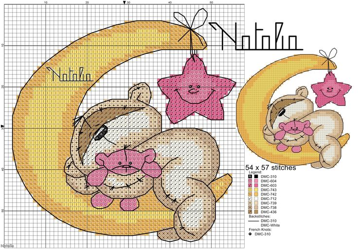 Cross stitch for baby