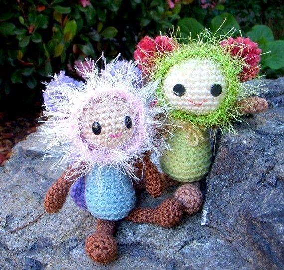 Butterfly Fairy  Crochet Amigurumi doll pattern / PDF от TGLDdoll, $4.50