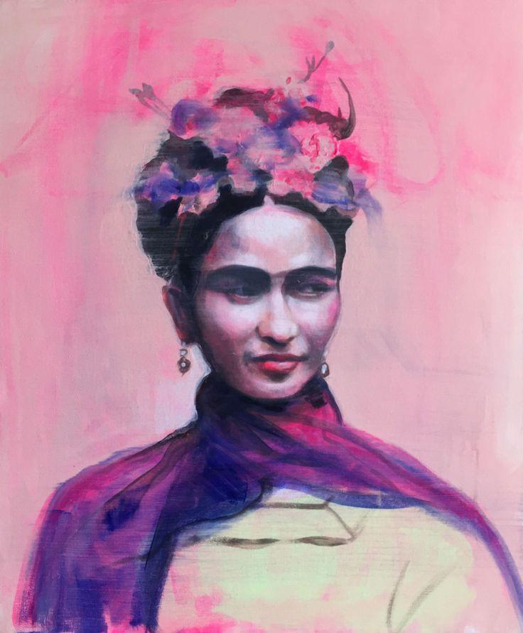 Flower-FridaKhalo