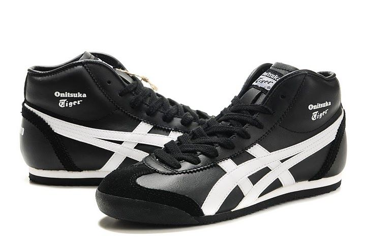 promo code 7cc12 923d3 Women's Onitsuka Tiger Mexico Mid Runner (Black/ White ...