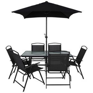 buy miami 8 piece patio set from our garden furniture range today from george at asda - Garden Furniture 8 Piece