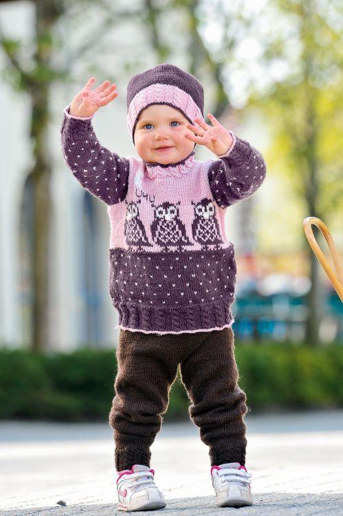 Tröja, byxa , mössa och vantar #knittingroom #stickat #garn #barn