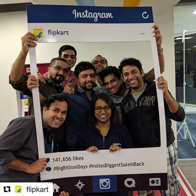 #Repost @flipkart with @repostapp ・・・ Life goal - getting 141656 likes on one insta post, for real. #inception #BigBillionDays #itnemeinitnaaaamilega