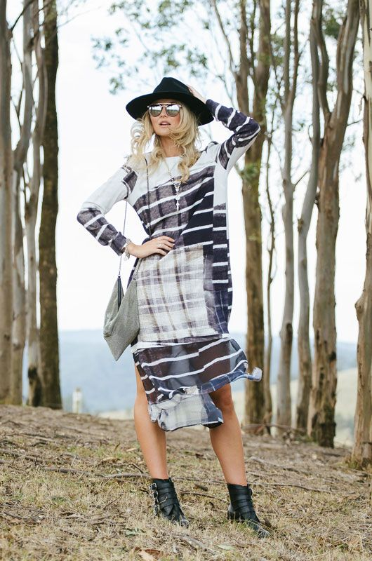 Relaxed racing inspiration in H&M, Husk, Olga Berg & Tony Bianco.  Styled by Bree Laughlin