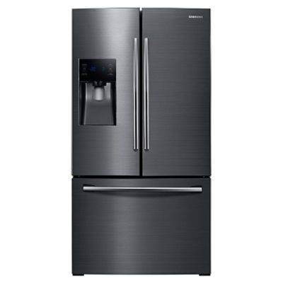 25 cu. ft. French Door with External Water & Ice Dispenser Refrigerators - RF263BEAESG/AA | Samsung US