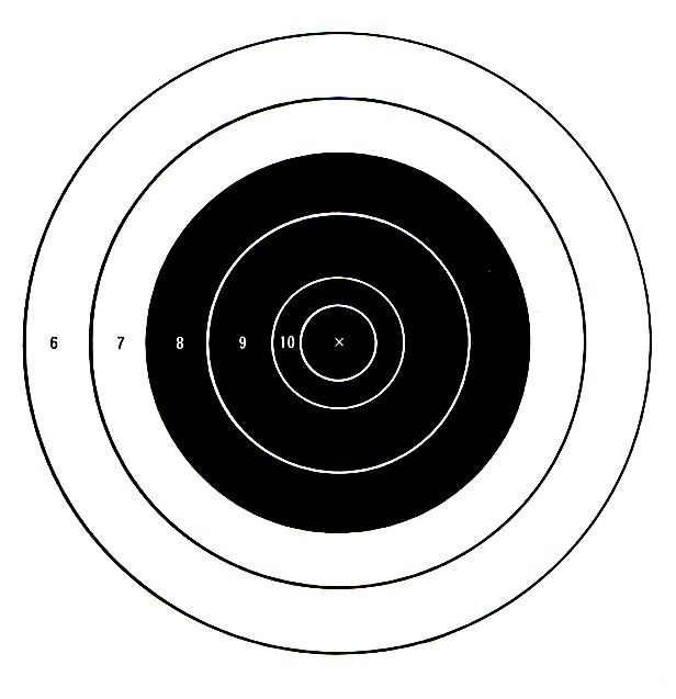 It's just a picture of Exhilarating 22 Targets Printable