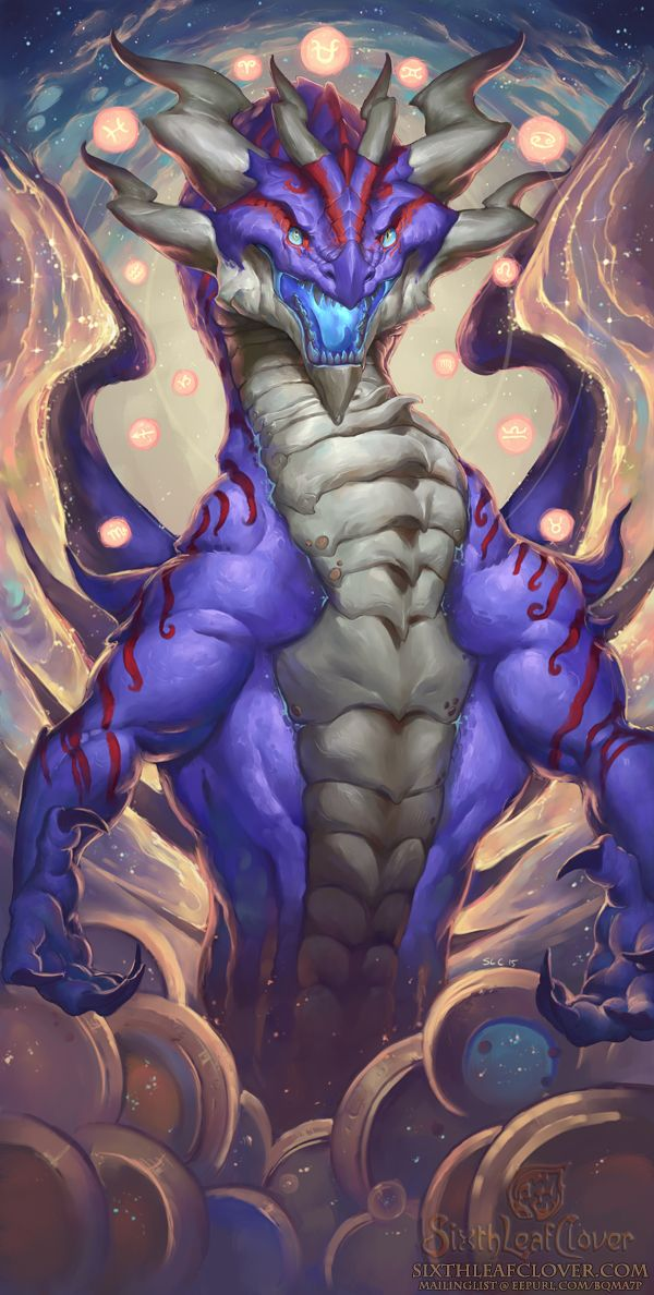 2016 Zodiac Dragons Ophiuchus by The-SixthLeafClover.deviantart.com on @DeviantArt