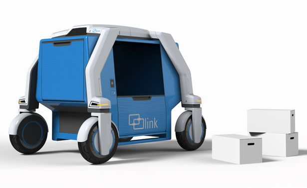 Link Urban Logistics System Utilizes Existing Public Transportation Infrastructure to Navigate The City
