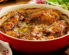 Casserole légère de lapin rôti miel et moutarde : http://www.fourchette-et-bikini.fr/recettes/recettes-minceur/casserole-legere-de-lapin-roti-miel-et-moutarde.html
