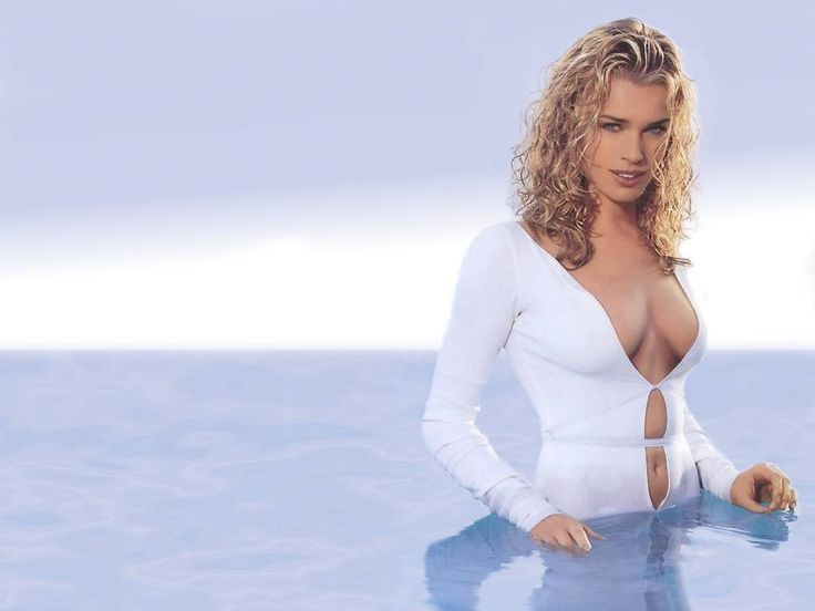 Rebecca Romijn Rebecca is an American actress and former fashion model. Description from pinterest.com. I searched for this on bing.com/images