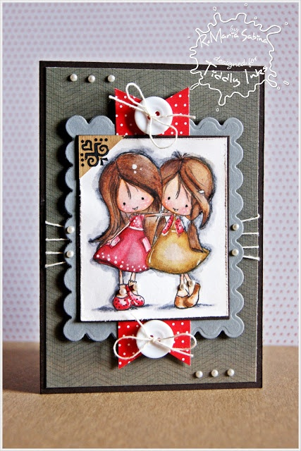 Tiddly Inks Challenge: Happy Holidays from Tiddly Inks on Fabulous Inky Friday!