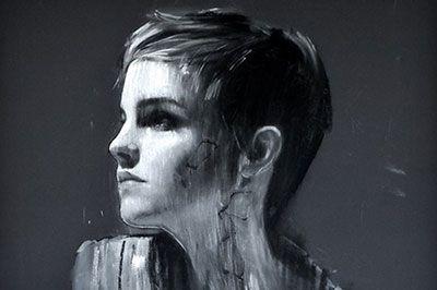 エマ・ワトソンがモダンアートに!マーク・デンステッダーの絵画展が渋谷で開催