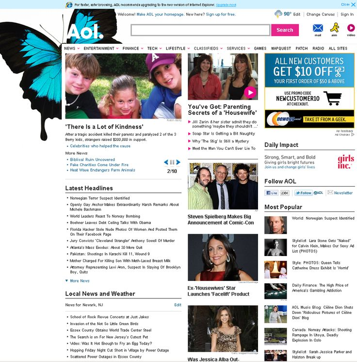 Make aol my homepage permanently makegooglemyhomepage net places