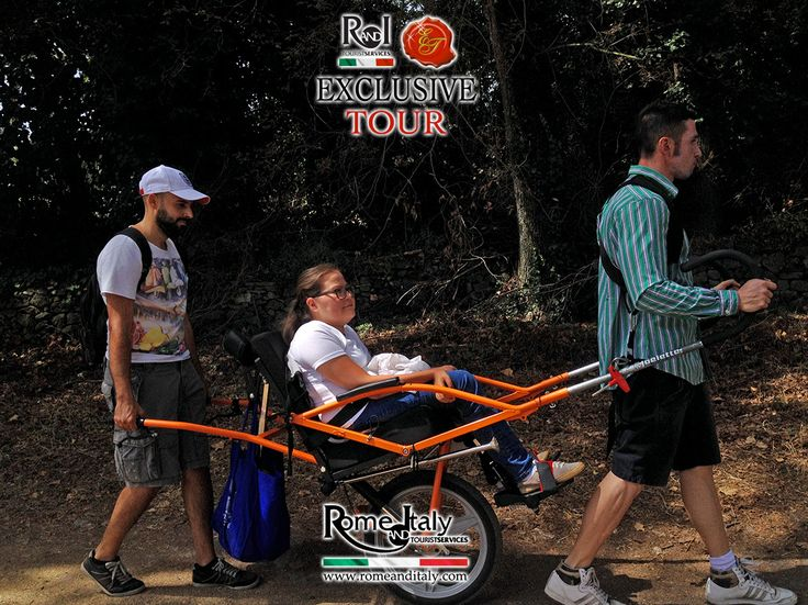Accessible Rome - Appian Way Park - (July 2016) Jasmine Marchand and Wheely Trekky accompany us to the discovery of Appian Way Park!