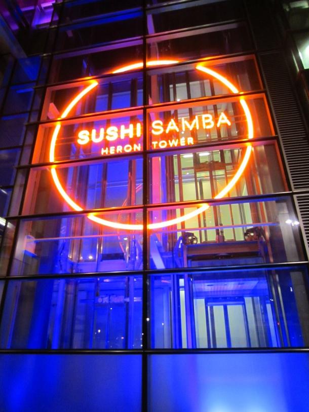 sushi samba... Must go