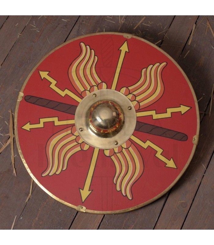 Escudo Parma Romano 62 Cms Escudos Romanos Escudos Armaduras Escudo Romano Escudo Romanos