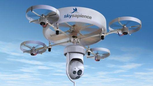 UAV de vigilancia HoverMast