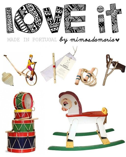 traditional toys made in Portugal ♥