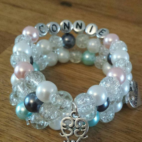 Check out this item in my Etsy shop https://www.etsy.com/uk/listing/222989116/girls-name-bracelet-buy-2-get-1