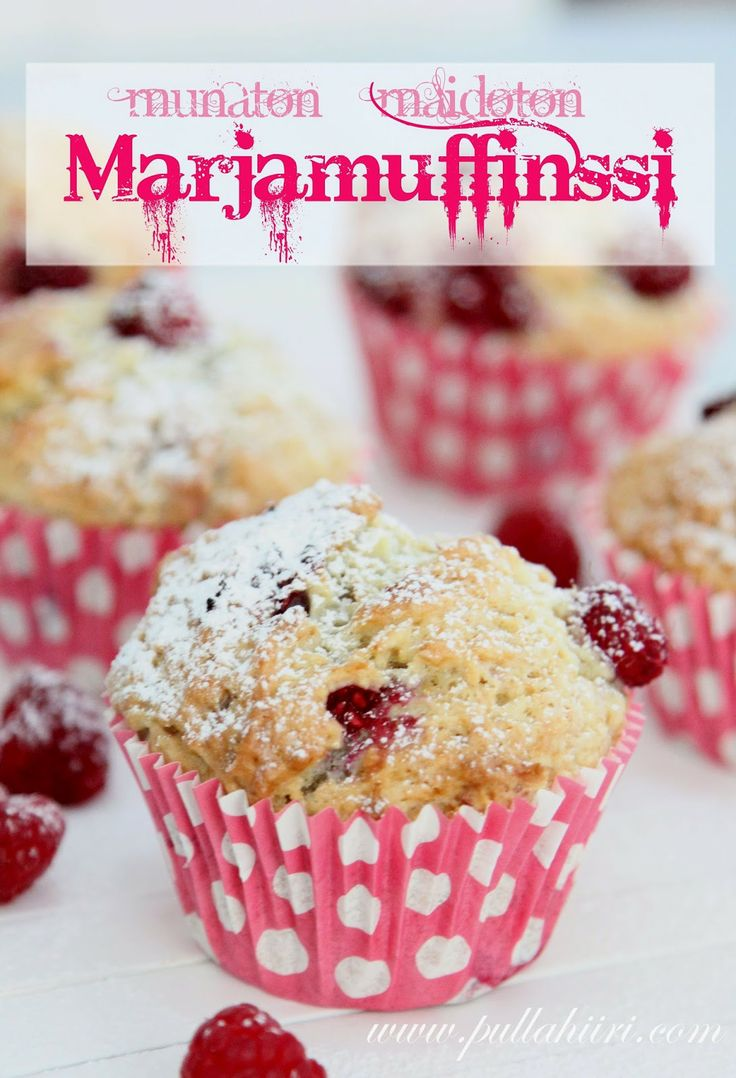 Munaton maidoton muffinssi