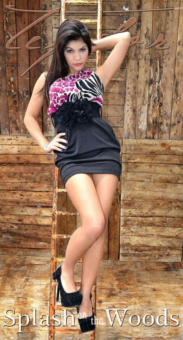 Michelle Gonzalez (17) Splash on the Woods Sesion