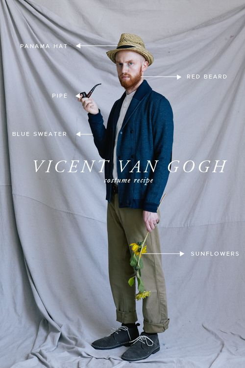 Vincent Van Gogh Costume for Halloween, or whenever...