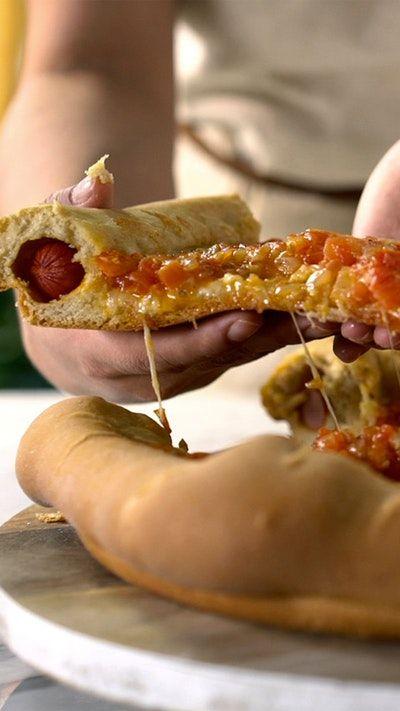 Pizza   Perro Caliente. Esta nueva idea te fascinará