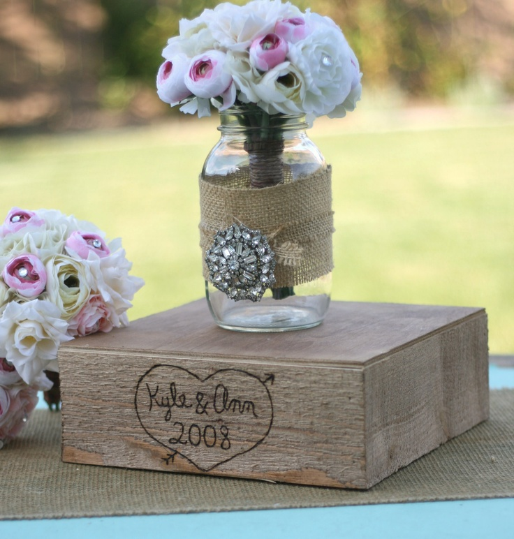 25 best rustic bling images on pinterest wedding decor weddings large 20x20 engraved barn wood custom engraved with your names shabby cake stand vintage inspired rustic junglespirit