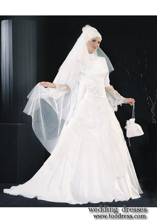 Muslim Wedding Dresses Houston : Islamic wedding dresses and gowns muslim