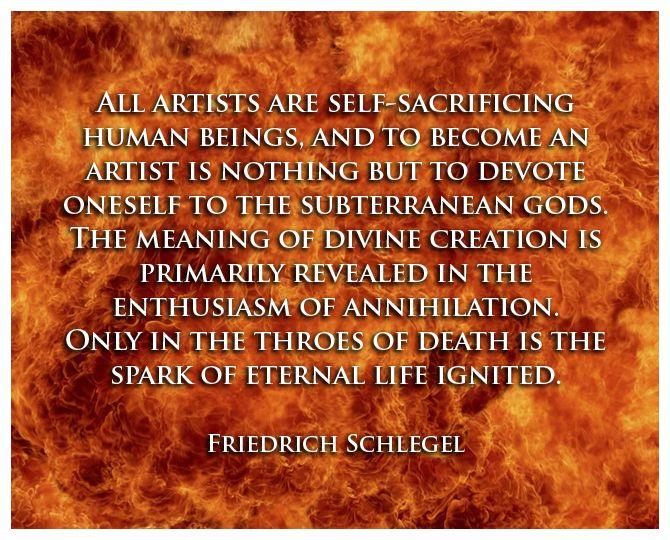 Quote: Creativity Series #1 - Friedrich Schlegel