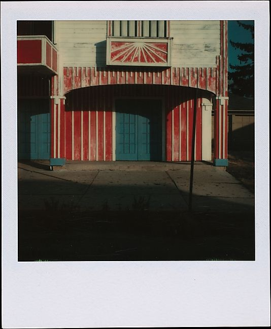 Walker Evans - Theater Near Old Saybrook, Connecticut. 1973