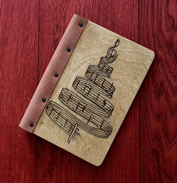 Musical notepad musician sketchbook notebook for songs