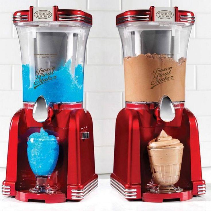 SMART Nostalgia 2in1 Slush & Soft-Eis Maschine
