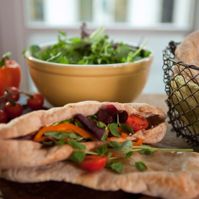 Paul Hollywood's Wholemeal pitta breads
