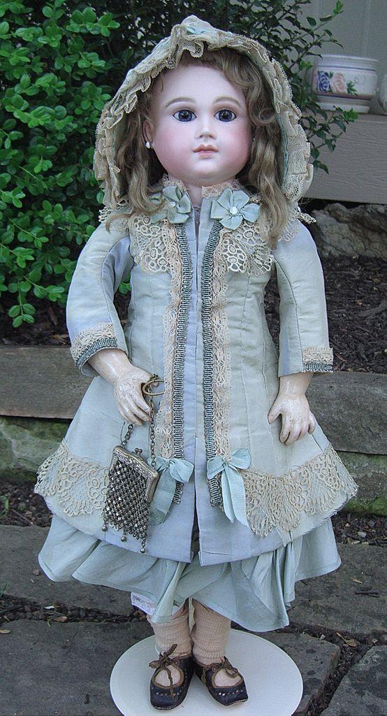 schmitt & fils dolls | RARE 25 French Antique Doll by Schmitt et Fils - layaway