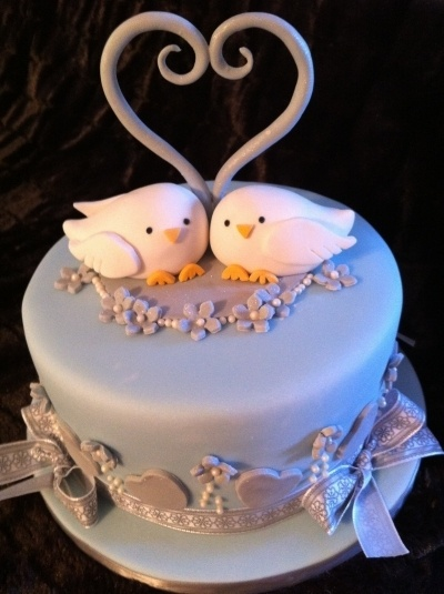 Always Lovebirds By AngelCakes_Bakery on CakeCentral.com