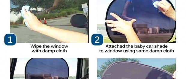 How to Make It A Cool Ride with Baby Car Shade in Hot Weather.