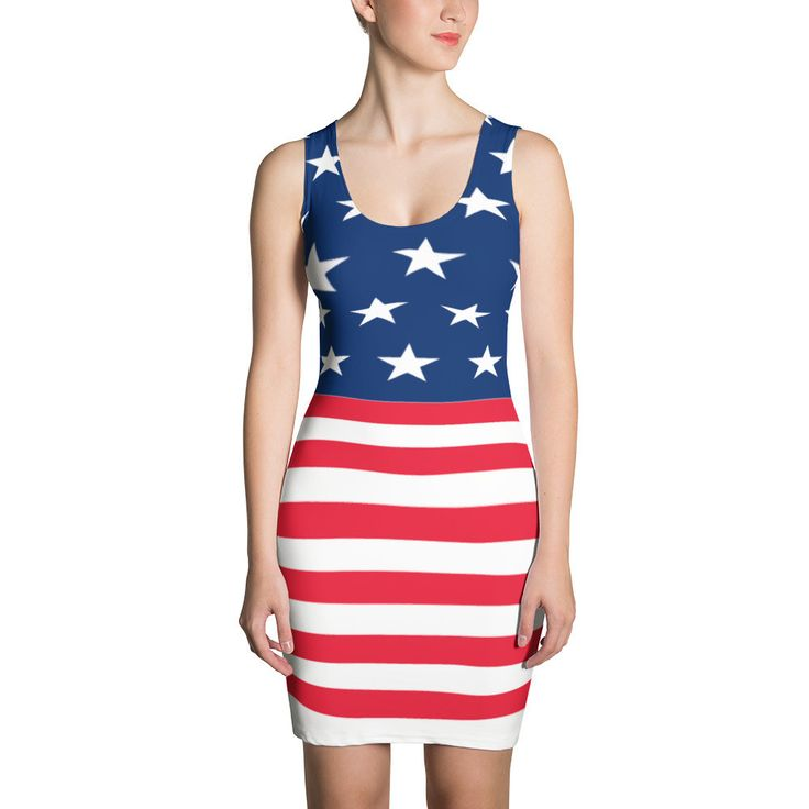 BRAYOX - USA Flag Dress (only 1,000 available)
